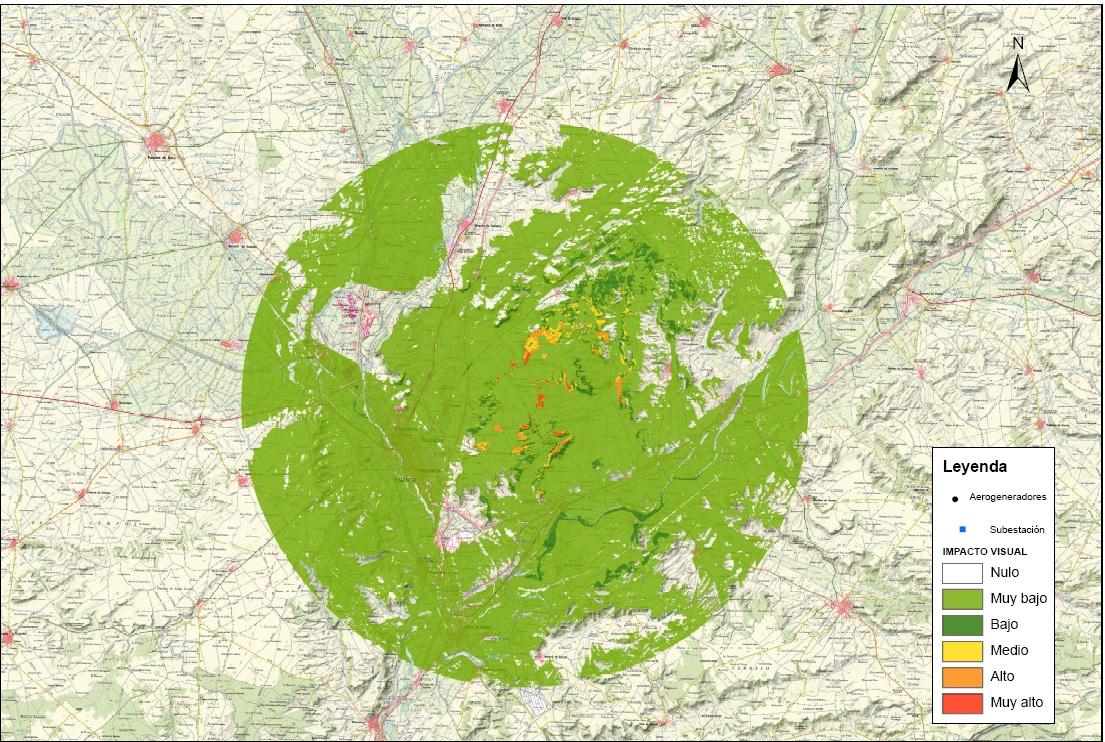 EIA de Parques eólicos y línea de evacuación en la provincia de Palencia