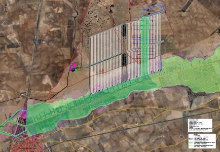 Plan de emergencia de una balsa de 500.000 m3 en Ciudad Real