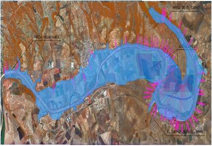 Determinación de zonas inundables y propuesta de motas de protección en el río Guadalquivir en la provincia de Córdoba.